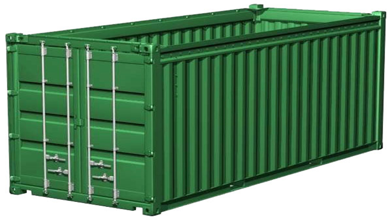 Container hở mái/ mui trần (Open-top container)