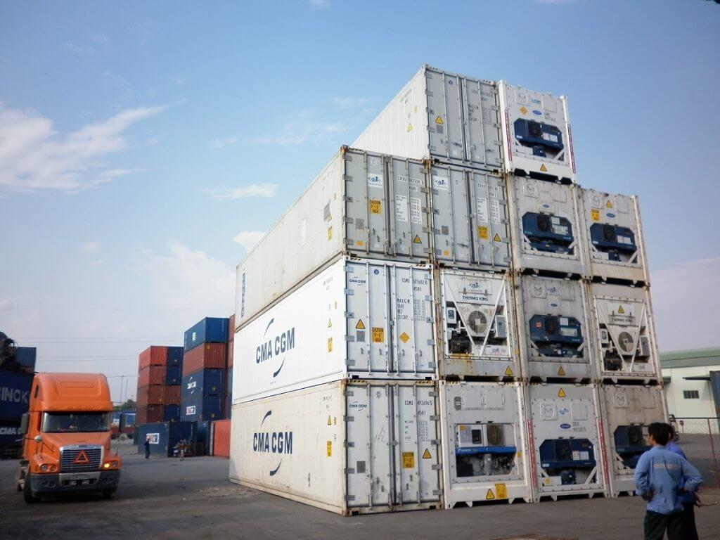 Dịch vụ vận chuyển container lạnh