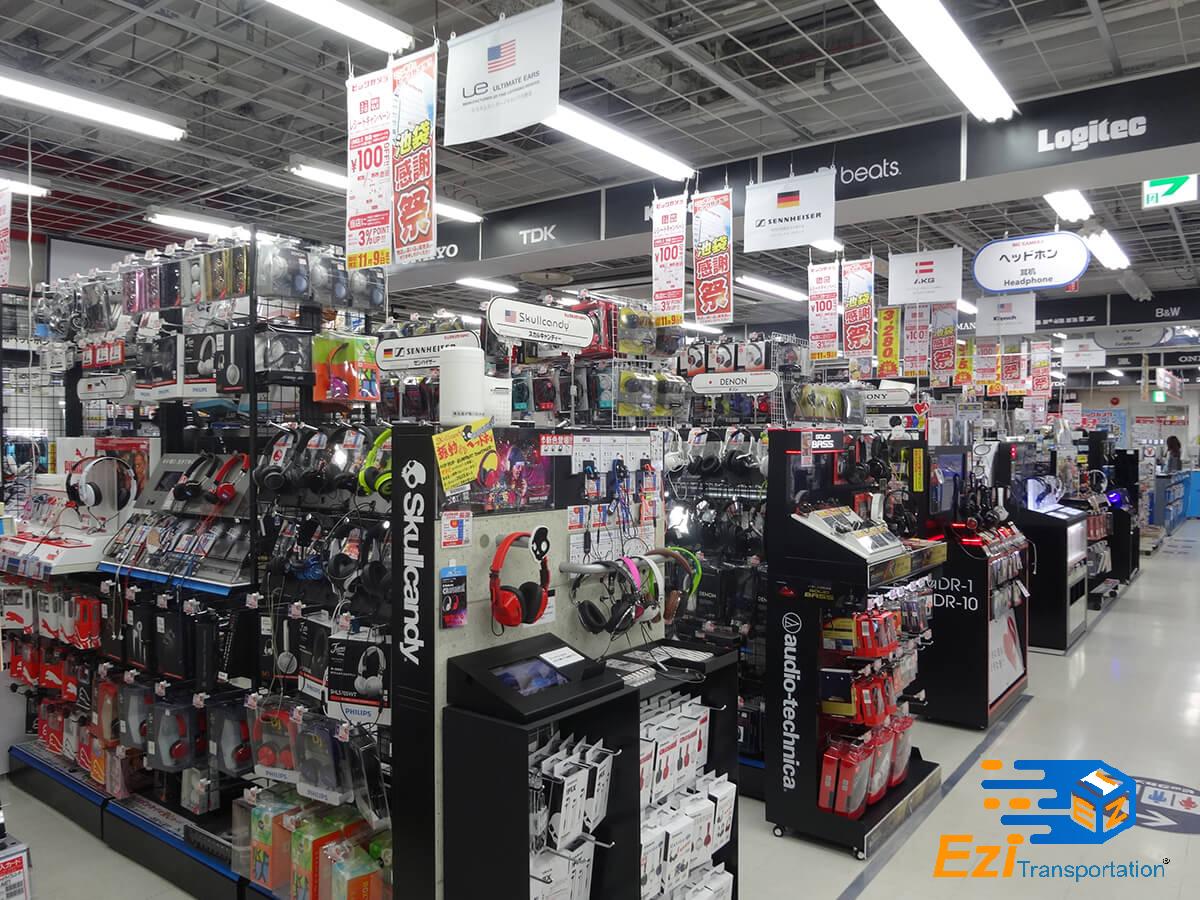 Gửi nhanh đồ điện tử tại Indochinapost
