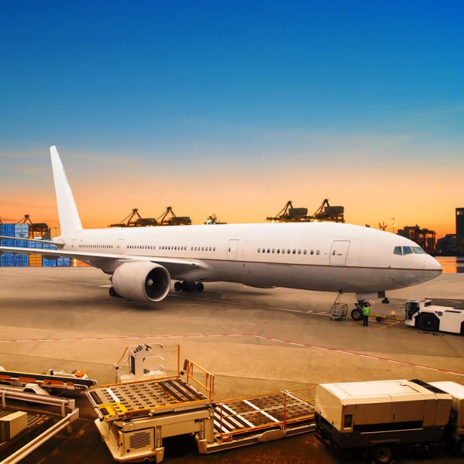 Quy trình vận chuyển hàng hóa nội địa bằng máy bay