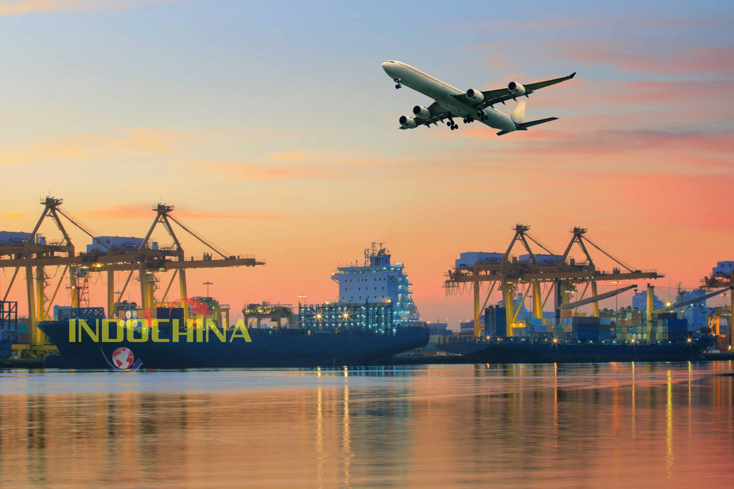 Dịch vụ chuyển phát nhanh giày dép đi quốc tế của Indochinapost